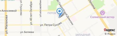 РостМеталл на карте Барнаула
