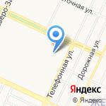 ГСК-34 на карте Барнаула