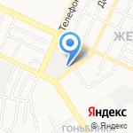 АлтайТрансСервис на карте Барнаула