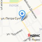 Good food на карте Барнаула