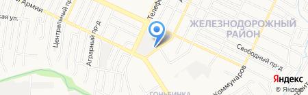 Лидер на карте Барнаула