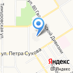 Рампил на карте Барнаула