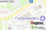 Схема проезда до компании Арт-Авто Дизайн в Барнауле