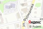 Схема проезда до компании Генеральские бани в Барнауле