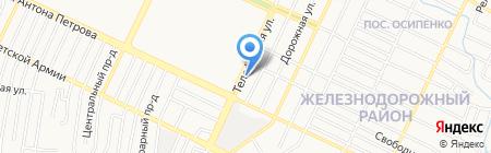 ГОЛД на карте Барнаула