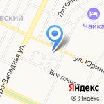 Шоколад на карте Барнаула