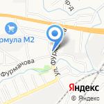 Мельница на карте Барнаула
