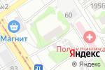 Схема проезда до компании Городская поликлиника №7 в Барнауле