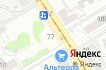 Схема проезда до компании Товары для Вас в Барнауле