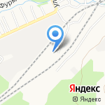 Инженерная компания на карте Барнаула
