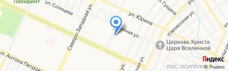 Управляющая компания на карте Барнаула