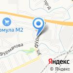 Авто-профи на карте Барнаула