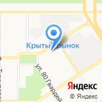 АМЗ-сервис на карте Барнаула