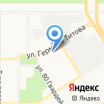 СиСорт на карте Барнаула