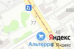 Схема проезда до компании Автомотив в Барнауле