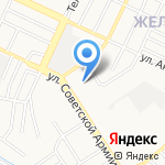 Городская поликлиника №7 на карте Барнаула
