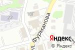 Схема проезда до компании Авто-профи в Барнауле