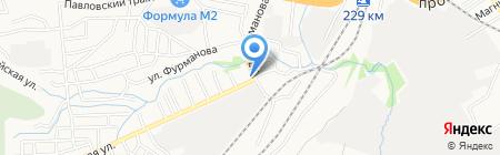 Продуктовый магазин на карте Барнаула