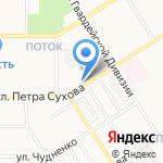 Медиация на карте Барнаула
