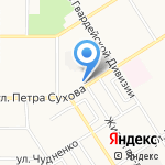 Вита на карте Барнаула