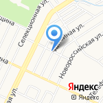 Взаперти на карте Барнаула