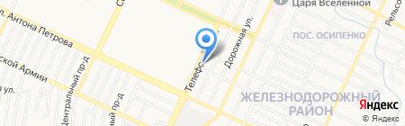 Лайк Хостел на карте Барнаула