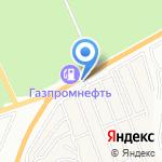 Садовый двор на карте Барнаула