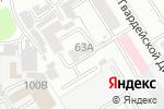 Схема проезда до компании Аварийная газовая служба в Барнауле