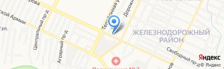 Жанна на карте Барнаула