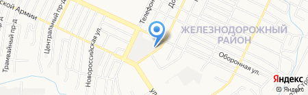 Гоньбинские сауны на карте Барнаула