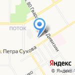 АНКОС на карте Барнаула
