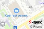 Схема проезда до компании Гранит Маркет в Барнауле