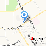 Учебно-производственный центр по подготовке на карте Барнаула
