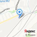 Служба предоставления услуг автовышки на карте Барнаула