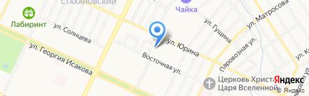 Детский сад №71 на карте Барнаула