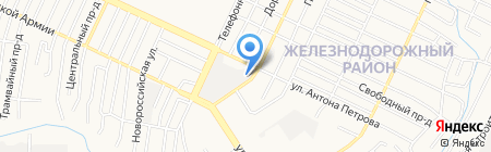 АБВ Цветы22.РФ на карте Барнаула