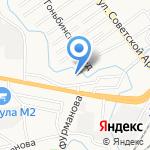 Термофор на карте Барнаула