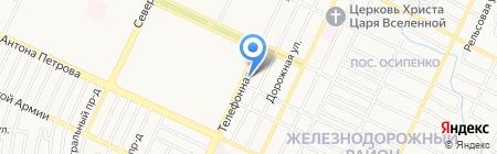 Автозапчасти для ГАЗели на карте Барнаула