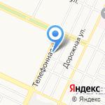 Магазин автозапчастей для ГАЗ на карте Барнаула