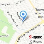 Кедровая Усадьба на карте Барнаула