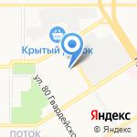 Участковый пункт полиции №5 Отдела полиции №9 УВД по г. Барнаулу на карте Барнаула