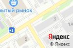 Схема проезда до компании Антарес в Барнауле