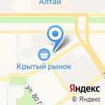 АвтоДисконт на карте Барнаула