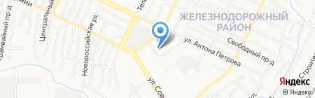Центр временного содержания для несовершеннолетних правонарушителей на карте Барнаула