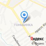 Любимая на карте Барнаула