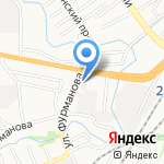 Барнаульское ДСУ-4 на карте Барнаула