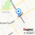 СПРИНТ-ПЛЮС на карте Барнаула