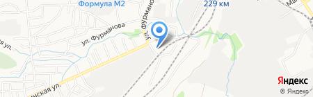 Детский сад №34 на карте Барнаула