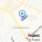 Сиберия на карте Барнаула
