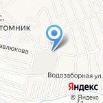 АлтBestMaster на карте Барнаула